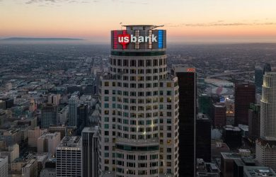U S Bank Tower goes up for sale